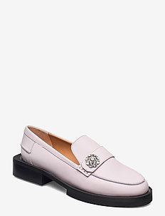 Calf Leather - loafers - pale lilac