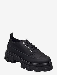 Nylon - lave sneakers - black