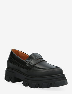 Chunky Loafer - loafers - black