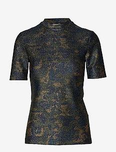 Lurex Jersey T-shirt - KALAMATA