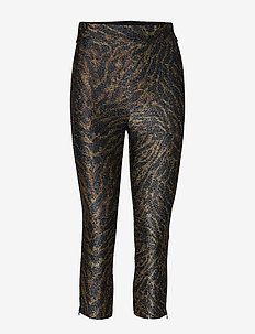 Lurex Jersey Leggings - TIGER