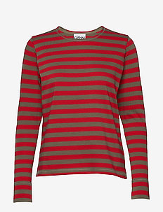 Striped Cotton Jersey - SAMBA