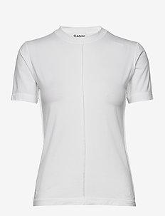 Light Stretch Jersey - BRIGHT WHITE