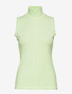 Light Stretch Jersey - Ærmeløse toppe - patina green
