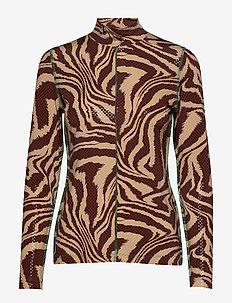 Foil Jersey - topy z długimi rękawami - tannin