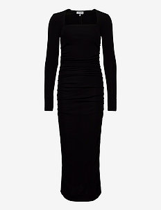 Viscose Jersey - robes longues - black