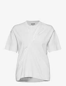Basic Cotton Jersey - t-shirts - bright white
