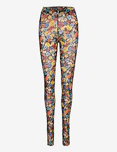 Printed Mesh - leggings - multicolour