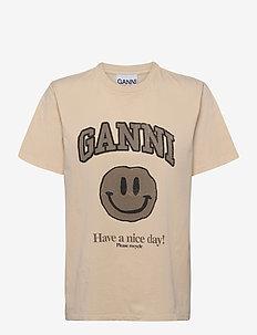 Basic Cotton Jersey - t-shirts - brazilian sand