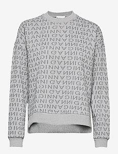 Jacquard Isoli - sweatshirts - paloma melange
