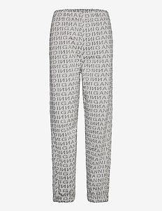 Jacquard Isoli - sweatpants - paloma melange