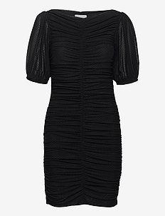 Dotted Mesh - korte kjoler - black