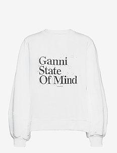 Isoli - sportiska stila džemperi un džemperi ar kapuci - bright white