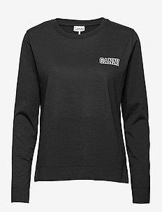 Thin Software Jersey - langærmede toppe - black
