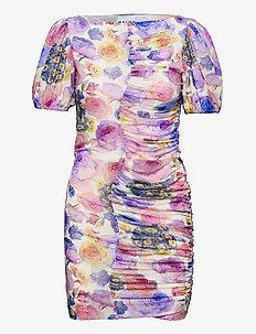 Printed Mesh - fodralklänningar - multicolour