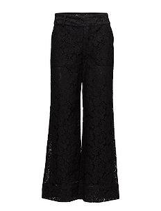 Jerome Lace Pants - BLACK
