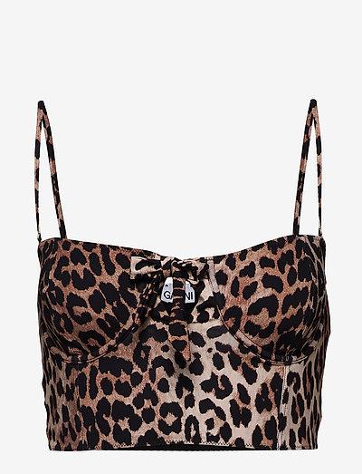 Bikini top - bikini overdele - leopard