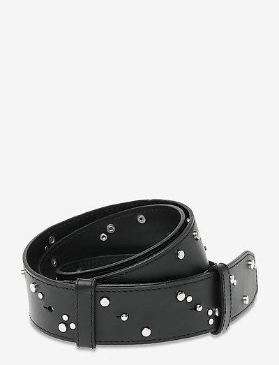 Studded Belt - accessories - black