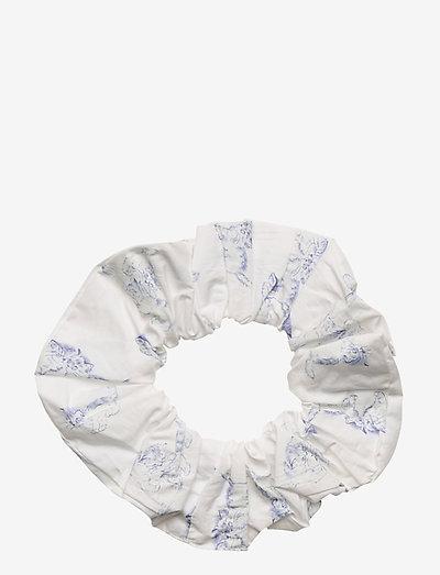 Printed Cotton Poplin - accessories - bright white
