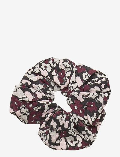 Printed Crepe - scrunchies - phantom