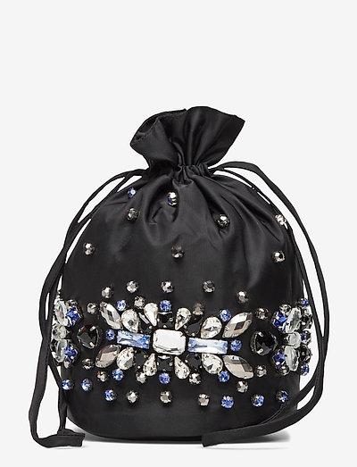 Crystals - bucketväskor - black