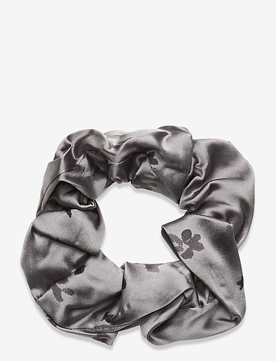 Silk Stretch Satin - scrunchies - sharkskin