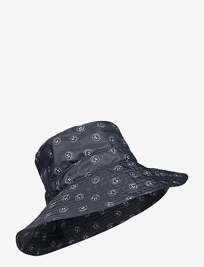 Seasonal Recycled Tech Fabric - bucket hats - phantom