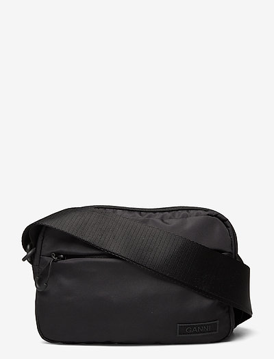 Recycled Tech Fabric Bags - tasker - black