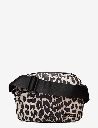Recycled Tech Fabric Bags - bags - leopard