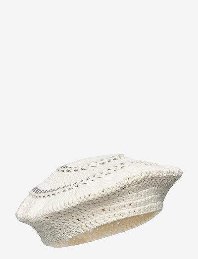 Cotton Knit - hüte - egret