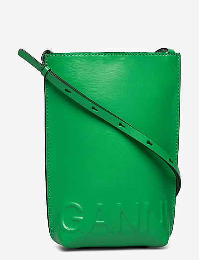 Recycled Leather - laukut - kelly green
