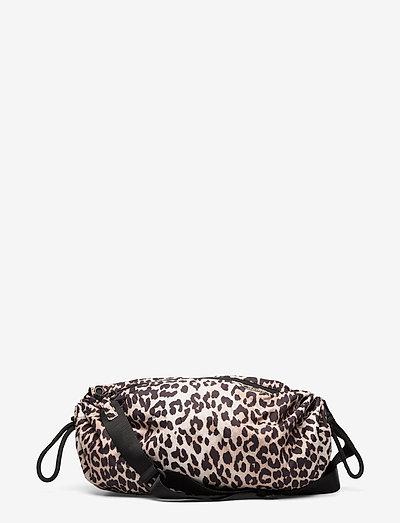 Seasonal Recycled Tech Fabric - crossbody tassen - leopard