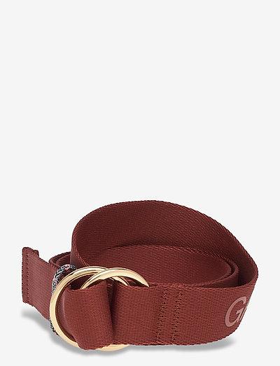 Webbing - accessories - madder brown