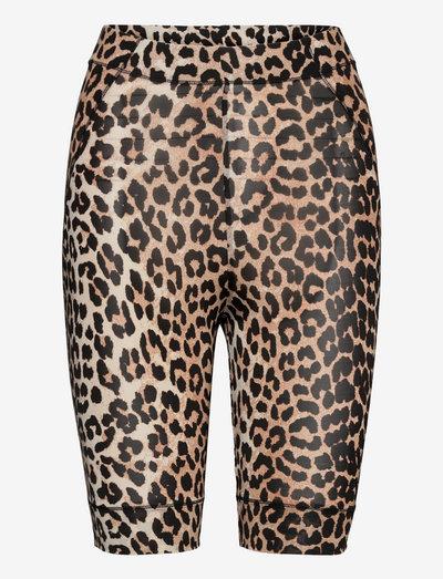 Rayon Underwear - cycling shorts - leopard