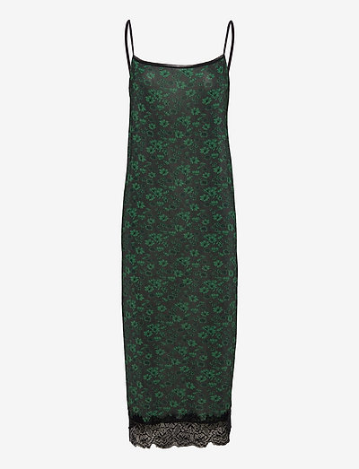 Rayon Underwear - bodies & slips - dark green