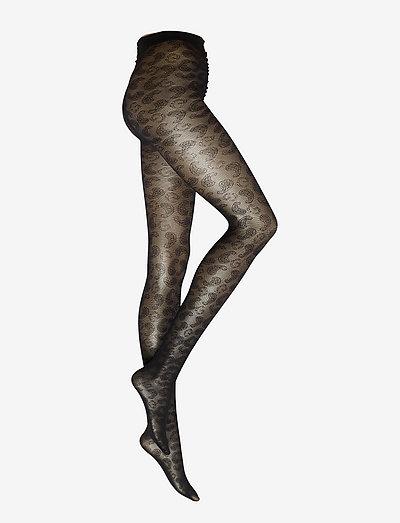 Lace - strumpfhosen - black