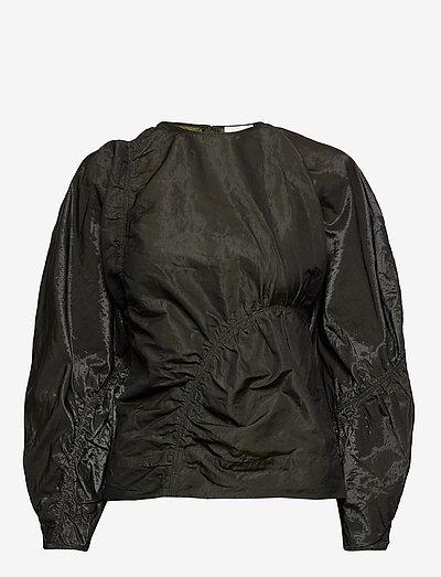 Shiny Chino - long sleeved blouses - kalamata