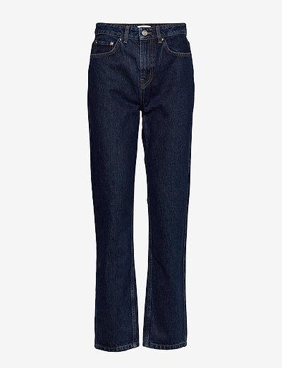 Basic Denim - mom jeans - dark indigo