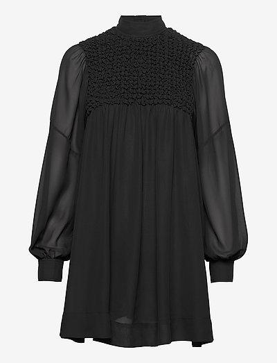 Smock Chiffon - short dresses - phantom