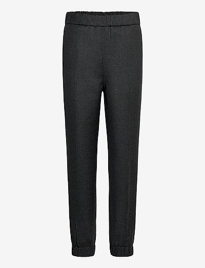 Wool Suiting - bukser med lige ben - phantom