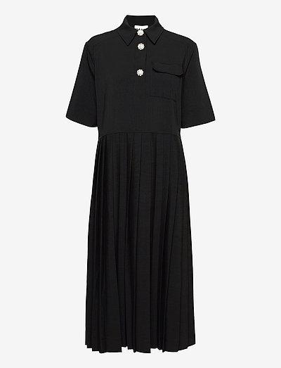 Melange Suiting - black