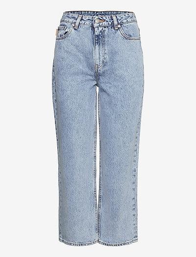 Classic Denim - brede jeans - washed indigo