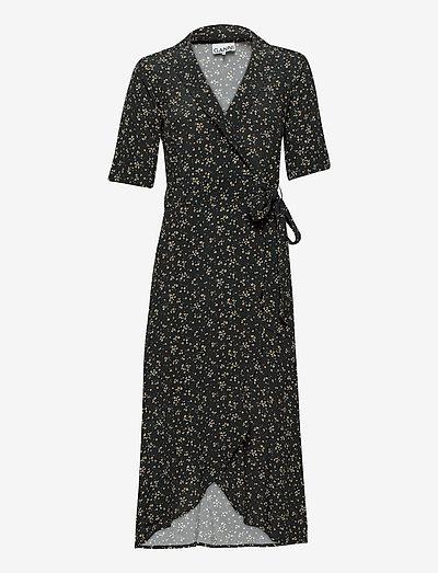 Wrap Dress - sommerkjoler - black