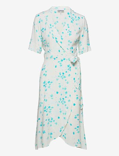 Wrap Dress - sommerkjoler - egret