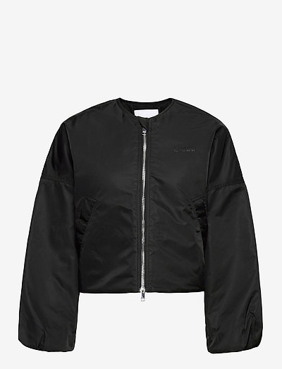 Outerwear Nylon - bomber jackets - black
