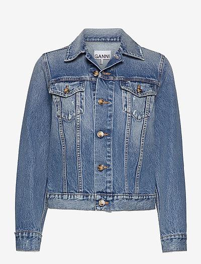 Overwashed Denim - jeansjackor - denim
