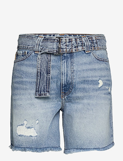 Overwashed Denim - jeansshorts - denim