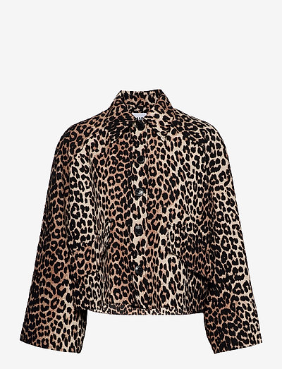 Linen Canvas - leichte jacken - leopard