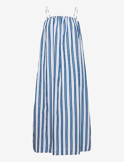 Stripe Cotton - midi dresses - daphne