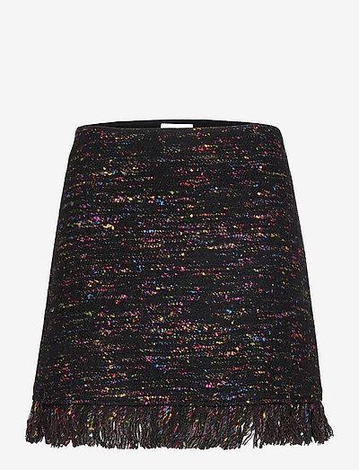 Multi Wool - kort skjørt - black